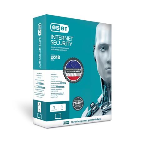 Przedłużenie licencji ESET Internet Security na 1 rok