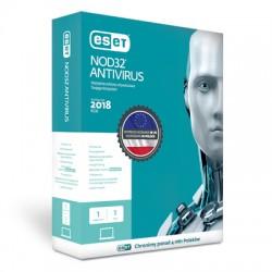 ESET NOD32 9 Antivirus 1 stanowisko na 1 rok