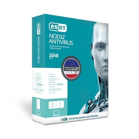 Przedłużenie licencji ESET NOD32 9 Antivirus na 1 rok